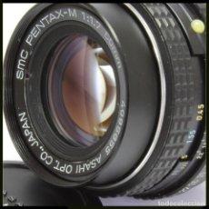 Cámara de fotos: PENTAX M 50MM 1.1.7 MONTURA PK. Lote 255540945