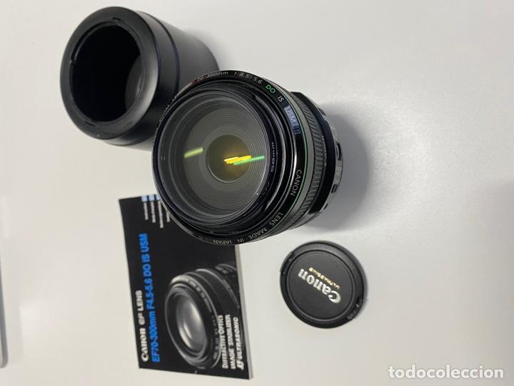 OBJETIVO CANON EF70-300MM F4.5-5.6, VER FOTOS (4,31 ENVÍO CERTIFICADO) (Cámaras Fotográficas Antiguas - Objetivos y Complementos )