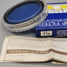 Appareil photos: FILTRO 80 A 67MM JESSOP MADE IN JAPAN NUEVO. Lote 259282545