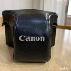 Cámara de fotos: FUNDA DE CUERO PARA CANON F1. Lote 259965500
