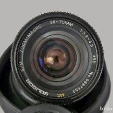 Câmaras de fotos: OBJETIVO SOLIGOR MC 28-70MM ZOOM+MACRO F1:3.9~4.5. Lote 260199790