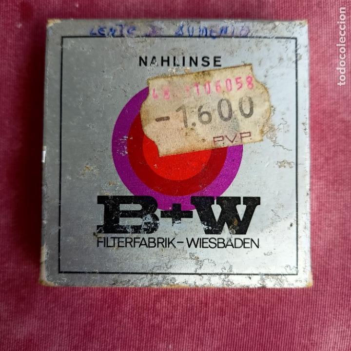 Cámara de fotos: B + W 52E filtro de imagen suave - 52mm filtro de anillo de ajuste made in Germany - Foto 2 - 260854540