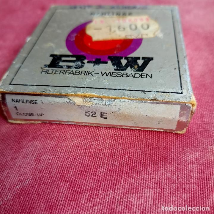 Cámara de fotos: B + W 52E filtro de imagen suave - 52mm filtro de anillo de ajuste made in Germany - Foto 3 - 260854540