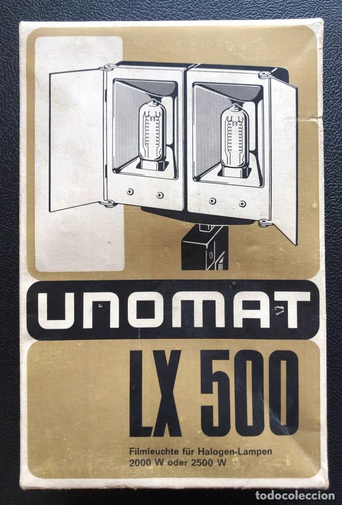 UNOMAT LX 500 - ANTORCHA PARA FILMACIÓN DE PELÍCULAS (Cámaras Fotográficas Antiguas - Objetivos y Complementos )