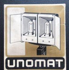 Cámara de fotos: UNOMAT LX 500 - ANTORCHA PARA FILMACIÓN DE PELÍCULAS. Lote 260961295
