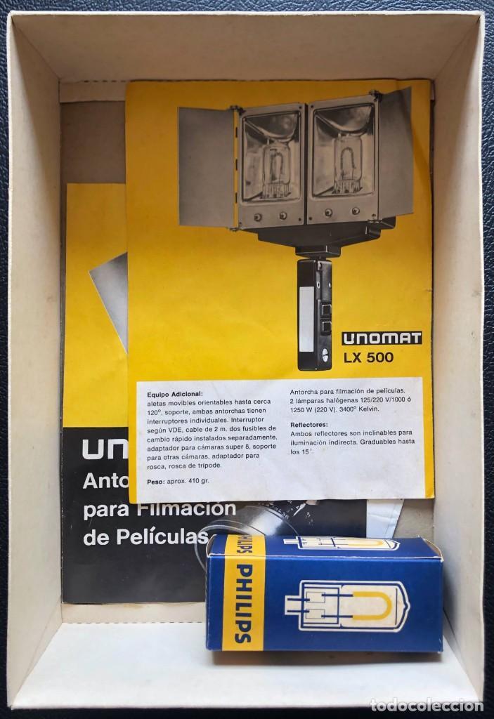 Cámara de fotos: UNOMAT LX 500 - ANTORCHA PARA FILMACIÓN DE PELÍCULAS - Foto 5 - 260961295