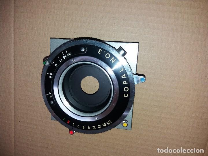 OBTURADOR MAQUINA FOTOGRAFICA.COPAL NUMERO3 (Cámaras Fotográficas Antiguas - Objetivos y Complementos )