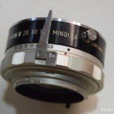 Cámara de fotos: DUPLICADOR 2X PARA MINOLTA MD MONTURA.. Lote 264806089