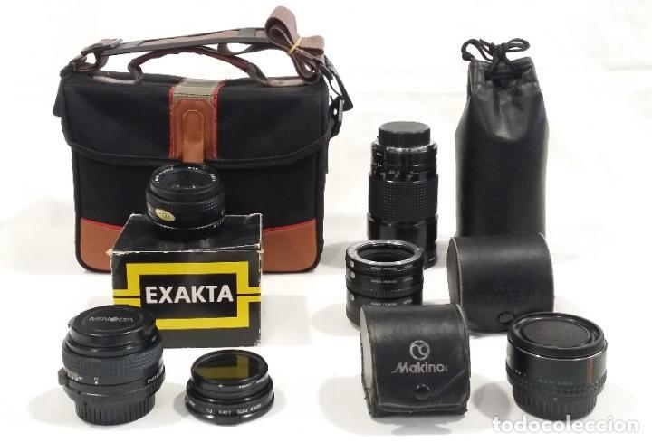 Cámara de fotos: Lote de accesorios de cámaras fotográficas Minolta, Asahi Pentax, Exakta, Makinon, Penta visión - Foto 2 - 272127048
