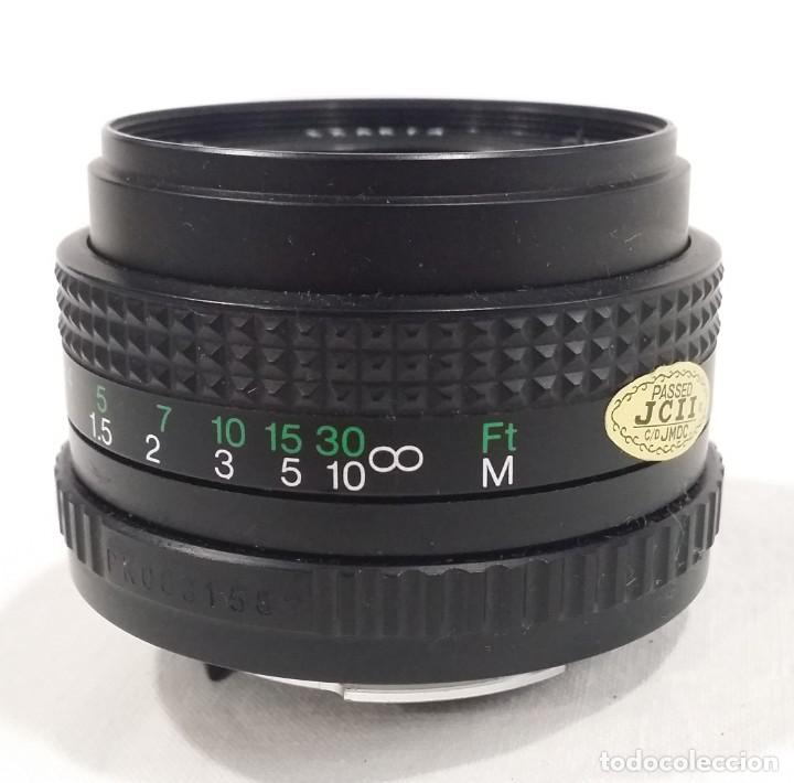 Cámara de fotos: Lote de accesorios de cámaras fotográficas Minolta, Asahi Pentax, Exakta, Makinon, Penta visión - Foto 7 - 272127048