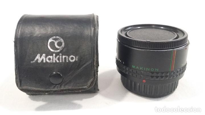 Cámara de fotos: Lote de accesorios de cámaras fotográficas Minolta, Asahi Pentax, Exakta, Makinon, Penta visión - Foto 16 - 272127048