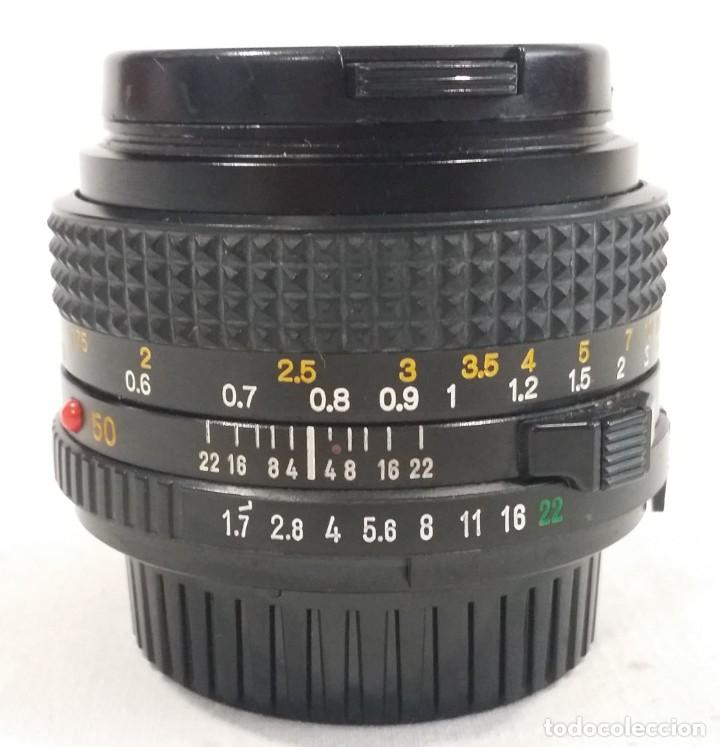 Cámara de fotos: Lote de accesorios de cámaras fotográficas Minolta, Asahi Pentax, Exakta, Makinon, Penta visión - Foto 28 - 272127048