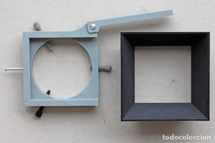 Cámara de fotos: Portaflitros universal adaptable a diferentes medidas de objetivo, con filtros rojo y verde - Foto 3 - 274595023
