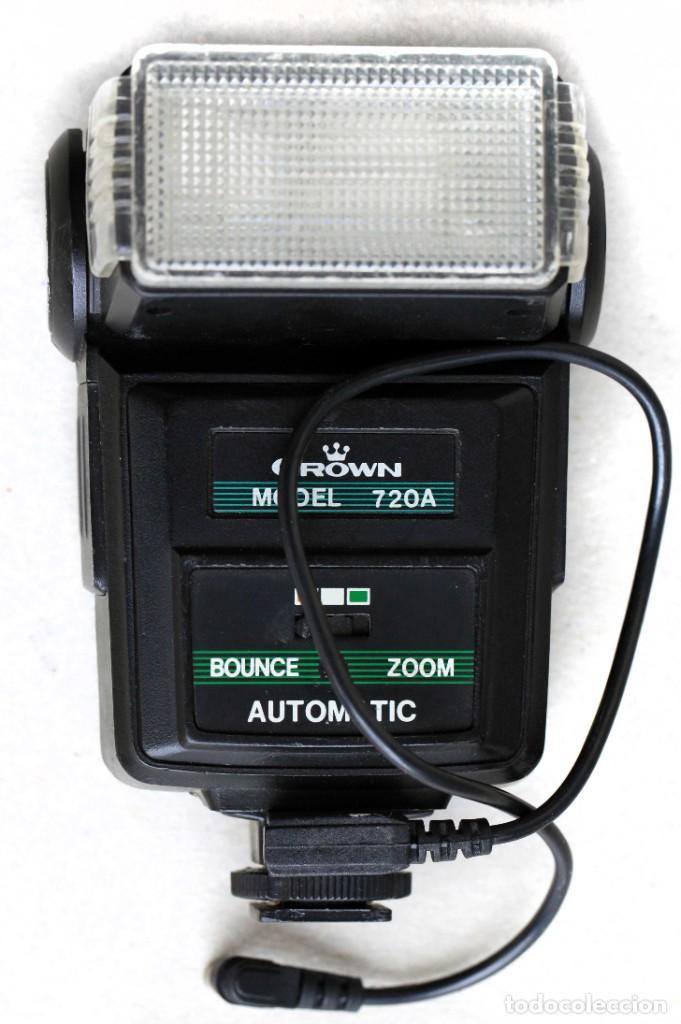 Cámara de fotos: 2 flashes, Crown y Starblitz, con fotómetro y de inclinación orientable - Foto 4 - 274595493