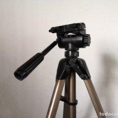 Fotocamere: TRÍPODE PARA CÁMARA O SIMILAR, STAR 63, EXTENSIBLE, CON NIVEL, UNOS 140 CMS. EXTENDIDO, LEER. Lote 276062978