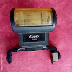 Cámara de fotos: ITOREX 263 ELECTRONIC FLASH FOR POLAROID SX-70,. Lote 276500708