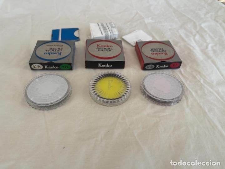 Cámara de fotos: Kenko optical filter 3 filtros objetivos cámara fotos Jean o nuevos blanco y negro color instrucc - Foto 3 - 289834818