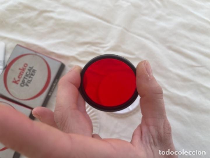 Cámara de fotos: Kenko optical filter 3 filtros objetivos cámara fotos Jean o nuevos blanco y negro color instrucc - Foto 4 - 289834818
