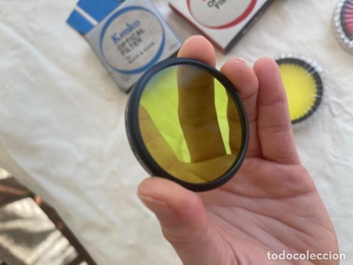 Cámara de fotos: Kenko optical filter 3 filtros objetivos cámara fotos Jean o nuevos blanco y negro color instrucc - Foto 6 - 289834818