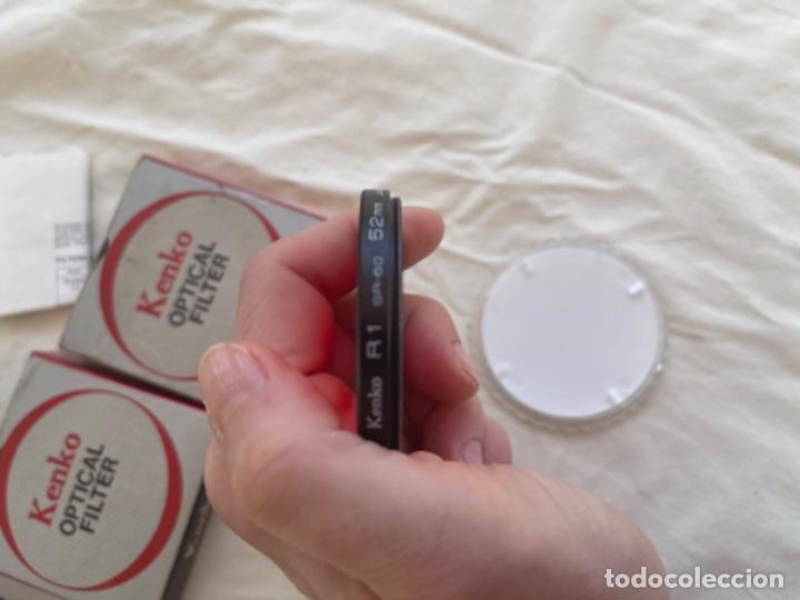 Cámara de fotos: Kenko optical filter 3 filtros objetivos cámara fotos Jean o nuevos blanco y negro color instrucc - Foto 8 - 289834818