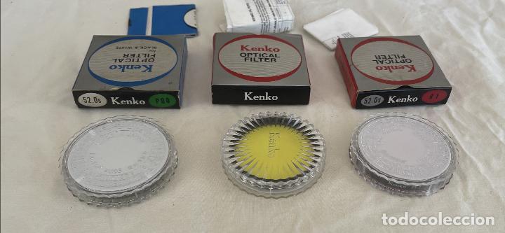 Cámara de fotos: Kenko optical filter 3 filtros objetivos cámara fotos Jean o nuevos blanco y negro color instrucc - Foto 14 - 289834818