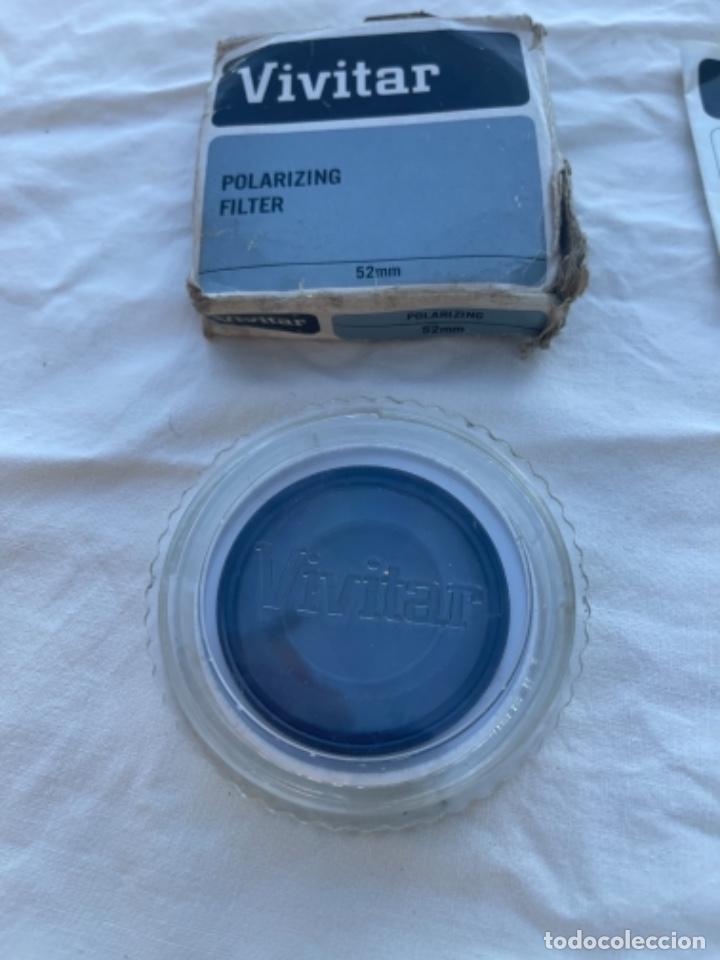 Cámara de fotos: Filtro polarizador vivitar y filtro naranja ambos 52 mm polarizing filter vivitar cámara de fotos - Foto 8 - 289857863
