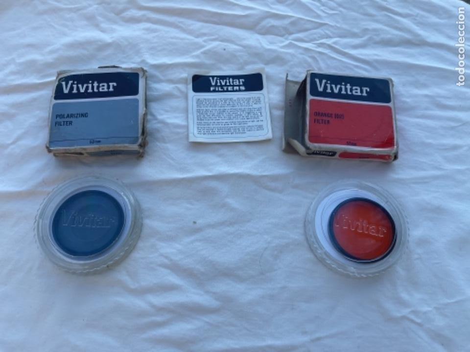 Cámara de fotos: Filtro polarizador vivitar y filtro naranja ambos 52 mm polarizing filter vivitar cámara de fotos - Foto 9 - 289857863