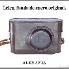 Fotocamere: FUNDA DE CUERO ORIGINAL LEICA. BUEN ESTADO DE CONSERVACION. Lote 290451588