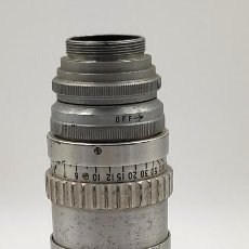 Cámara de fotos: OBJETIVO KODAK CINE EKTAR LENS 102 M M F. 2.7, DE PRINCIPIOS DEL SIGLO XX.. Lote 297042208