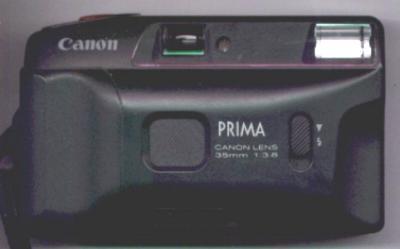 CÁMARA COMPACTA CANON PRIMA JUNIOR. 35 MM. 1:3.8 FLASH INCORPORADO, CIERRE OBTURADOR DE OBJETIVO, CO (Cámaras Fotográficas - Panorámicas y Compactas)