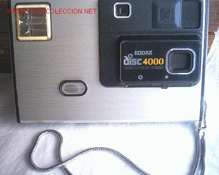 CAMARA KODAK DISC 4000 ( VER FOTOS ) REBAJADA (Cámaras Fotográficas - Panorámicas y Compactas)