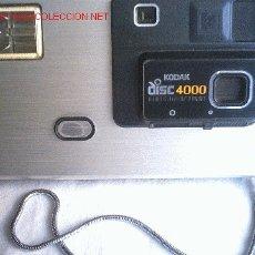 Cámara de fotos: CAMARA KODAK DISC 4000 ( VER FOTOS ) REBAJADA. Lote 27323341