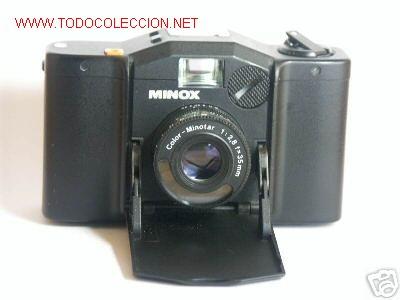 MINOX GL COLOR-MINOTAR 1:2,8 F=35 MM (Cámaras Fotográficas - Panorámicas y Compactas)