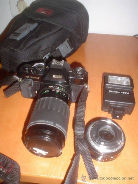 CAMARA FOTOGRAFICA RICOH KR-5SUPERII +ZOOM (Cámaras Fotográficas - Panorámicas y Compactas)