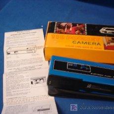 Cámara de fotos: - CÁMARA FOTOGRÁFICA 110 POCKET CON SU CAJA Y MANUALES - COLECCIONISTAS. Lote 24314510