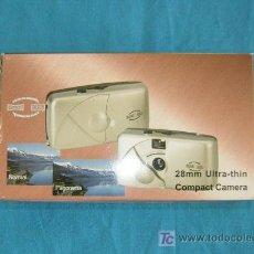 Cámara de fotos: CAMARA COMPACTA. 28 MM ULTRA - THIN.. Lote 27599447