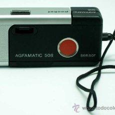 Cámara de fotos: CÁMARA AFGA AFGAMATIC 508 POCKET SENSOR AÑOS 80. Lote 77958981