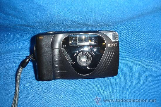 - RICOH FF-9 - CÁMARA DE FOTOS CON FUNDA Y MANUAL (Cámaras Fotográficas - Panorámicas y Compactas)