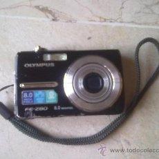 Cámara de fotos: CAMARA OLYMPUS FE-280 8.0 MEGAPIXEL (SOLO PARA COLECCIÓN). Lote 28096820