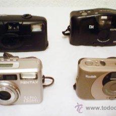 Cámara de fotos: LOTE DE CAMARAS COMPACTAS.PENTAX,OLYMPUS,KODAK Y KODAK ADVANTIX F-350. Lote 28571918