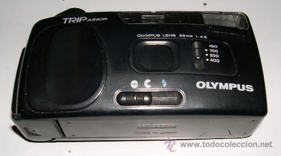 CÁMARA COMPACTA OLIMPUS TRIP JUNIOR (Cámaras Fotográficas - Panorámicas y Compactas)