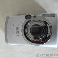 Cámara de fotos: ESPECTACULAR CAMARA CANON DIGITAL IXUS 950 IS . CON TODOS SUS ACCESORIOS. Lote 30915636