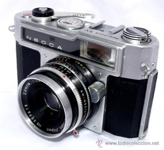 Cámara de fotos: CAMARA FOTOS NEOCA SV ZV PRE NIKKON JAPON AÑOS 50 - Foto 2 - 33440303