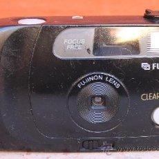 Cámara de fotos: CAMARA DE FOTOS FUJIFILM CLEAR SHOT II (LENTE QUE FIJA EL FOCO 33 MM/7). Lote 34133508