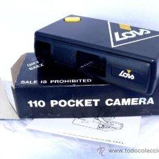 Cámara de fotos: ÚNICA! CAMARA DE FOTOS ANTIGUA LOIS POCKET EN CAJA A ESTRENAR VINTAGE. Lote 34452138