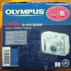Fotocamere: CÁMARA DE FOTOS DIGITAL OLYMPUS CAMEDIA C-370 ZOOM. EN SU CAJA Y CON ACCESORIOS COMPLETOS. Lote 35988512