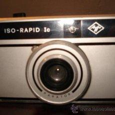 Cámara de fotos - AGFA ISO-RAPID IC ALUMINIO PLÁSTICO - 36803725