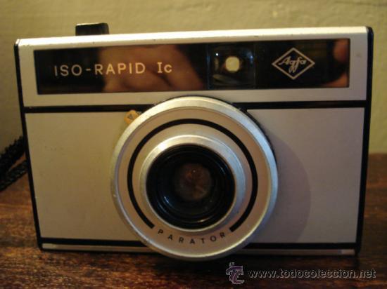 Cámara de fotos: AGFA ISO-RAPID IC ALUMINIO PLÁSTICO - Foto 2 - 36803725