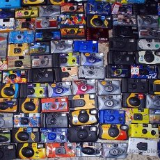 Cámara de fotos: SUPER LOTE ENORME COLECCION DE AL MENOS TRESCIENTAS 300 CAMARAS DE USAR Y TIRAR. Lote 37731576