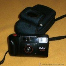 Câmaras de fotos: VINTAGE CÁMARA FOTOS VIVITAR R-400, CON FLASH INCORPORADO. Lote 37759523